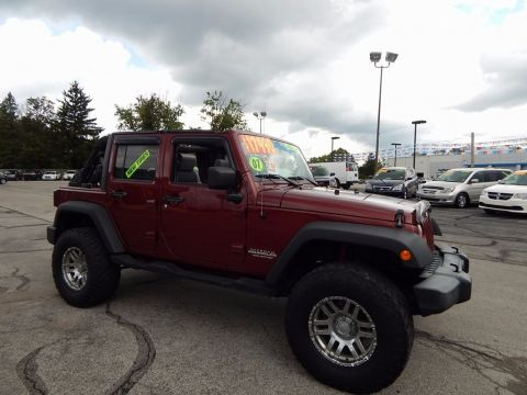 Used Jeep Wrangler Unlimited X
