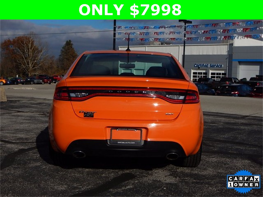 pre-owned 2013 dodge dart sxt/rallye 4d sedan in richmond #67599a